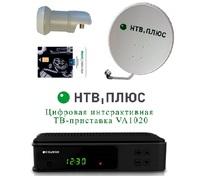 Комплект НТВ плюс с интерактивной ТВ-приставкой VA1020